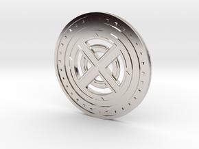 Gladiator Collectible Medallion in Platinum