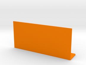 Remote Shelf in Orange Processed Versatile Plastic