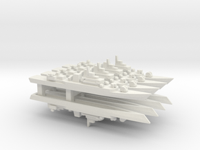 PLA[N] Type 053H3 Frigate x8, 1/2400 in White Strong & Flexible