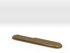 Victorinox replacement scale (for aluminum print) in Natural Bronze