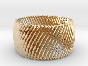 Ring Strips Size 6 in 14K Yellow Gold