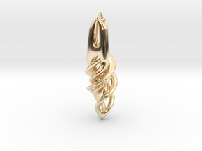 Tryday Solid2 in 14K Yellow Gold