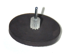 Sunbeam Electric Clock Motor Pinion in Smoothest Fine Detail Plastic