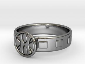 King Grayskull Ring in Fine Detail Polished Silver