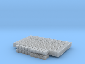 1:200_Containers [x40][A] in Frosted Ultra Detail