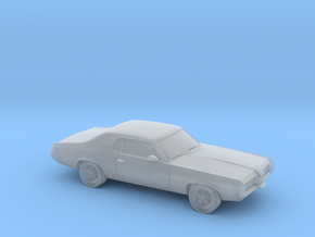 1/87 1966-69 Mercury Cougar in Smooth Fine Detail Plastic