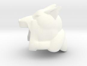 Puppyshade Hood in White Processed Versatile Plastic