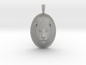 Lion Head Necklace Jewelry - Leo Sign - Symbol in Aluminum
