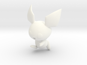 Pichu Amiibo in White Strong & Flexible Polished