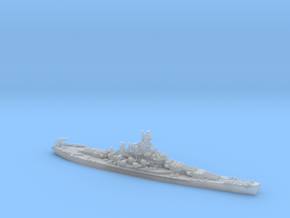 US BB60 Alabama [early-war; 1942] in Smooth Fine Detail Plastic: 1:1800