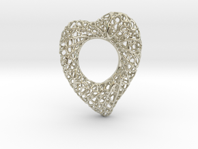 Love Nest in 14k White Gold