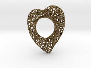 Love Nest in Polished Bronze