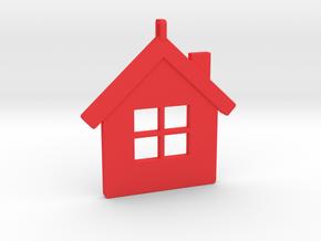 Home in Red Processed Versatile Plastic