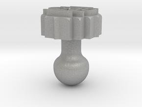 Cufflink  in Aluminum