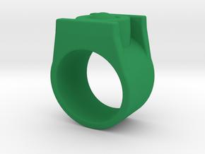 Green Lantern Ring 8.5 in Green Processed Versatile Plastic