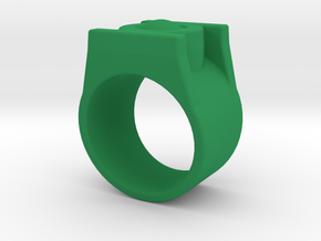 Green Lantern Ring 9.5 in Green Processed Versatile Plastic