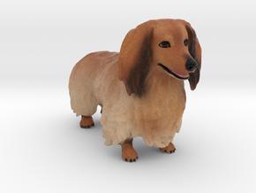 Custom Dog Figurine - Royston in Full Color Sandstone