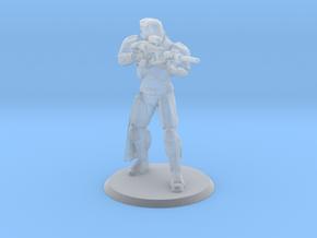 Defender Miniature in Smoothest Fine Detail Plastic