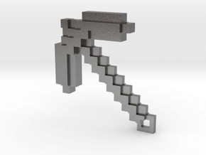 Minecraft - Pickaxe in Natural Silver