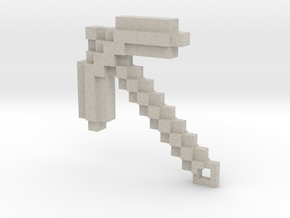Minecraft - Pickaxe in Sandstone