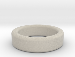 Ring Size 8 (filleted) in Natural Sandstone