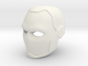 Deathstroke Young Justice Helmet in White Strong & Flexible