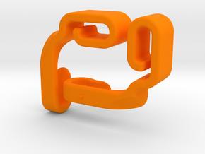 Bag Hooks in Orange Strong & Flexible Polished