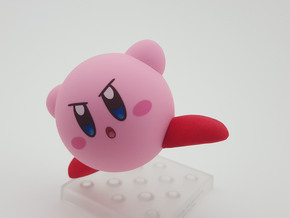 Nendoroid Kirby Kicking Feet in Red Processed Versatile Plastic