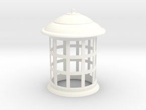 1/2 Scale Tennant/Eccleston TARDIS Top Lamp in White Processed Versatile Plastic