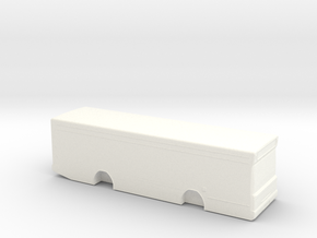 Dennis Dart MPD 1:148 British N Gauge in White Processed Versatile Plastic