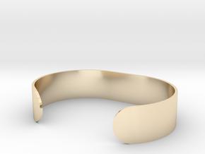 Custom Bracelet 40mm X 30mm Solid in 14K Gold