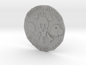 Monkey Island 3 | Verb Coin in Aluminum