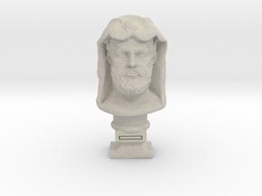 Hercules bust in Natural Sandstone