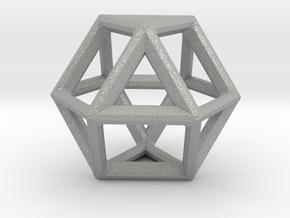 VECTOR EQUILIBRIUM FRAME in Aluminum