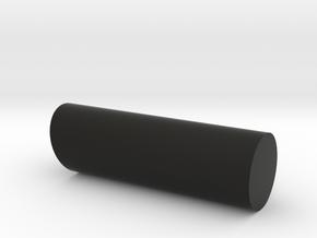 Kikkert Styrepind in Black Natural Versatile Plastic