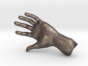 The Hidden Hand (Miniature) in Polished Bronzed Silver Steel