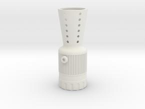 Merr Sonn Flash Hider in White Natural Versatile Plastic