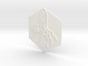 Bee•tween in White Processed Versatile Plastic