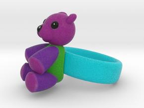 Teddy Ring in Full Color Sandstone