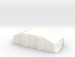 1:87 / H0 Clip-On Reefer Container1 in White Processed Versatile Plastic
