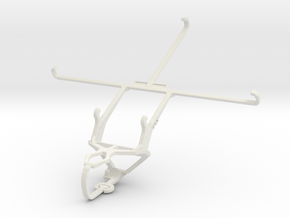 Controller mount for PS3 & Motorola Moto X Force in White Natural Versatile Plastic
