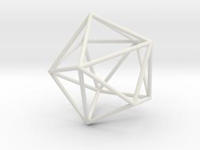 Maxvol.3.10 100mm in White Natural Versatile Plastic