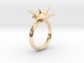 Explosion in 14K Yellow Gold