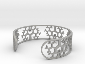 Geometric Tree Bracelet 7in (18cm) in Aluminum