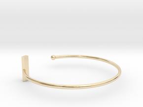 Fine Bracelet Ø 58 mm/2.283 inch R Small in 14K Yellow Gold