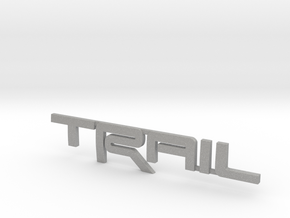 Trail Emblem Revision 02 in Aluminum