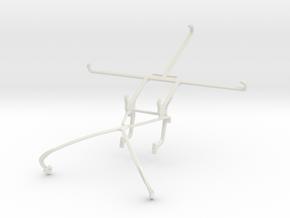 Controller mount for Shield 2015 & Meizu MX5 in White Natural Versatile Plastic