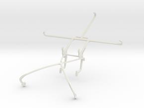 Controller mount for Shield 2015 & Sony Xperia E4g in White Natural Versatile Plastic