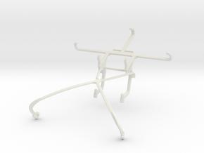 Controller mount for Shield 2015 & ZTE Nubia Z9 in White Natural Versatile Plastic