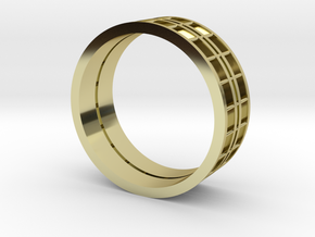 Pilons 10 Us   in 18k Gold Plated Brass